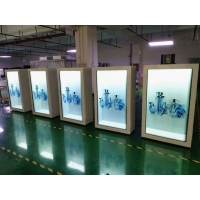 """China 400nits 86"""" Portrait Transparent LCD Display FCC For Trade Show wholesale"""