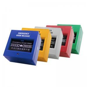 China Sandblast Panel Access Control Exit Button Door Release Glass Break Alarm Button wholesale