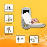 China Slim Type RFID Card Door Lock with Long life time for power usage and low voltage warning wholesale