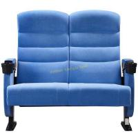 China Two Seater VIP Couple Chairs With Five Years Warranty / Movie Theater Chairs wholesale