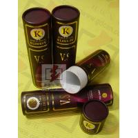 8 Inch Cardboard Tube Packaging Cylindrical Glossy Lamination Printing