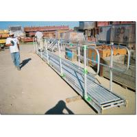 China Heavy Duty Aluminum Plank Grating / Aluminum Scaffold Plank For Scaffold Accessories on sale