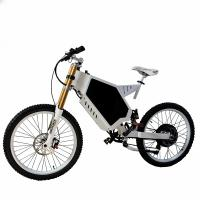 Buy cheap Electric Stealth Bomber Mountain Bike , Fortified Steel Stealth Bomber Bicycle from wholesalers