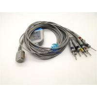 China Kenz 108 / 109 Ecg Cables And Leadwires , Ecg Patient Cable With Banana / din 3.0 wholesale