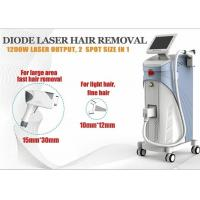 China 1200W Soprano Ice Diode Laser Hair Removal Machine 1-10Hz ROHS TUV wholesale