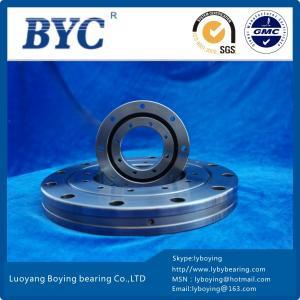 China RU148 crossed roller bearing|90*210*25mm THK type BYC slewing ring bearings price|thin bearing wholesale