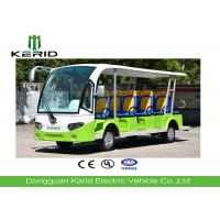 Buy cheap Aluminum Alloy Column Electric Shuttle Bus With 14 comfortable bus seats from wholesalers