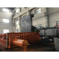 Buy cheap 315 Tons Baling Force Cuboid Block Scrap Baler Machine Cylinder Scrap Metal from wholesalers