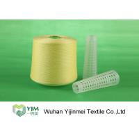 China 502 Colored Ring Spun Dyed Polyester Yarn , Polyester Twisted Yarn For Knitting / Weaving wholesale