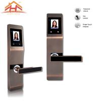 China High Security Face and Password Door Lock With Touch Screen wholesale