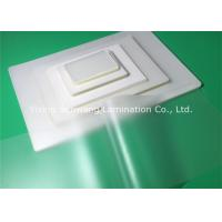 China Glossy PET Pouch Laminating Film Glossy Preventing Alteration For Documents Cards wholesale