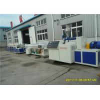 Buy cheap Fully Automatic PVC Double Pipe Machine, PVC One out of Two Pipe Production Line from wholesalers