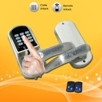 China Portable Keypad Password Door Lock For Home / Office Buildings Security wholesale