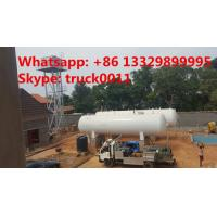 China 50m3 China cheapest price domestic lpg gas tank for sale, high quality 25tons above ground lpg gas storage tank for sale wholesale