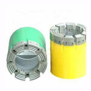 China Geotec Bq Hq Nq Pq Aq Diamond Core Drill Bit For Geological Drilling Use wholesale