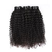 """Quality Natural Color Peruvian Body Wave Hair BundlesCurly Dancing And Soft 10"""" To 30"""" Stock for sale"""