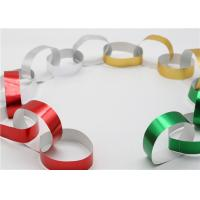 China Handy Gummed Wedding Paper Chains Multi Color Available Eco - Friendly Material wholesale