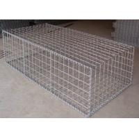 China 1m * 0.5m * 0.5m Galvanized Welded Gabion Box With 4mm Wire anti-crossion wholesale