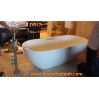 China Quartz composite bathtub wholesale