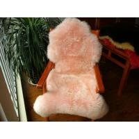 Hot Selling Fashion Dyed Color Sheepskin Rugs Sheep Fur