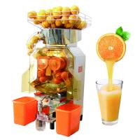 China Food-grade stainless Steel Body Commerical Automatic Orange Juicer Machine wholesale