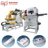 China Metal Decoiler Straightener Press Feeding Equipment Hydraulic Cutter Hold Down Device wholesale