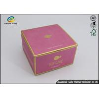 Buy cheap Oem Paper Packaging Box For Eye Sleep Personal Care Facial Treatment Mask from wholesalers