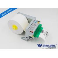 China Auto cutting 3 inch thermal receipt printers , portable thermal printer for queue up wholesale