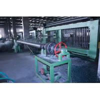 Double Rack Drive Gabion Hexagonal Wire Netting Machine 4.2mm Wire