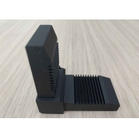 China Aluminium Extrusion Profiles T Slot T5 Right Angle Joint Bracket For Corner Connecting OEM Customized Black Color wholesale