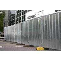 Buy cheap Galvanized Powder Coated Temporary Hoarding Panels In Ausrtalian Buliding Site from wholesalers