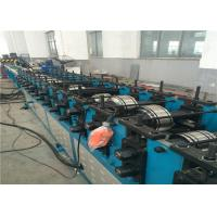 China Fire Damper Frame Shutter Roll Forming Machine 34kw 8-10m/min Multifuctional wholesale