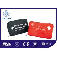 China Easy Carry Personal Burns First Aid Kit Pouches Germany Standard DIN13164 wholesale