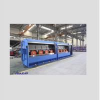 China RBD450/13 Individual Servo motor drives type of Al Rod Breakdown Machine with Double spooler PND630 wholesale