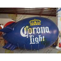 China Durable Inflatable Helium Zeppelin , B1 Colorful Fireproof Inflatable Airship wholesale
