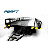 China 50t Steel Frame Flat Bed Platform Handling Semi-truck with Non-power on sale