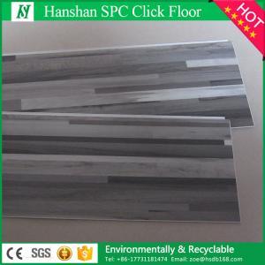 China 4.0mm Interlocking PVC Vinyl Plank flooring with Uniclic Click on sale
