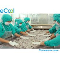 China Custom Meat Processing Cold Room 3000 Tons , Cold Room For Frozen Seafood wholesale