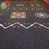 China Anti Slip Gym Room Rubber Flooring Rolls 1.22*10m Environmentally Friendly wholesale