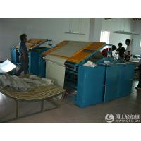 China Blue Colour Textile Industry Machines , Fabric Plating Equipment Large Operation Space wholesale