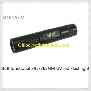China MINI Slim 3W High Power 395NM Ultraviolet Pocket Led Flashlight Taking 18650 Battery on sale