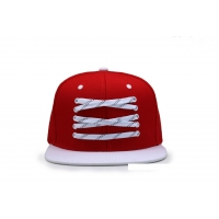 China 3D Embroidery 7cm 7.5cm Flat Brimmed Hat Outdoor Leisure Custom Caps wholesale