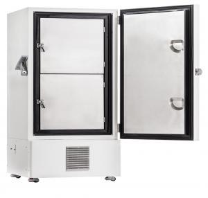 China ULT Upright Medical Freezer Blood Bank Equipments -86 Degree Lab Deep Refrigerator 340L wholesale