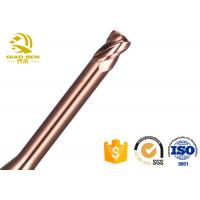 China High Accuracy Solid Carbide Reamers Fast Chip Removal SGS Certification wholesale