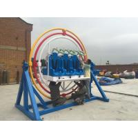 China Adults 360 Degree Human Gyroscope Ride 6 Seats With Led And Music Function wholesale