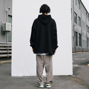 China Polyester Cotton Fleece Ladies Oversized Hoodies 340gsm With Kangroo Pocket wholesale