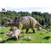 Buy cheap High Simulation Attractive Giant Dinosaur Statue Replica For Amusement Park from wholesalers