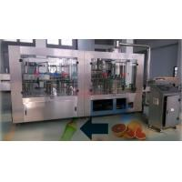 China High Speed Juice Filling Line Automatic Rinsing Filling And Capping Machine wholesale