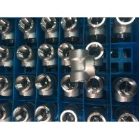China Stainless Steel Forged Fitting, ASME B16.11,NPT,SW,90°ELOW,3000#,6000#,1/2 on sale