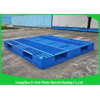 Buy cheap Recyclable Single Mesh Deck Stackable Plastic Pallets 1200*1000mm from wholesalers